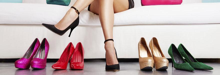 Des souliers de qualité